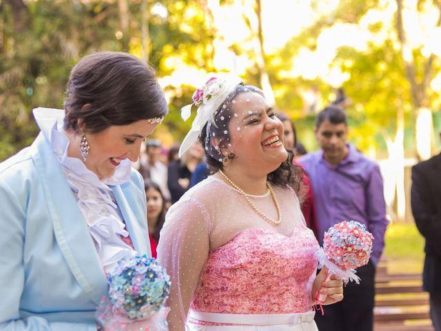 O casamento de Denise e Juliana