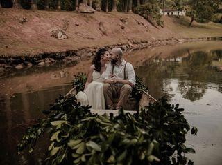 O casamento de Clarissa e Lucas