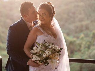 O casamento de Greice e Éderson
