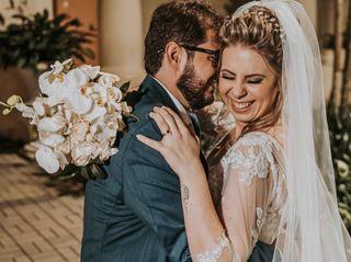 O casamento de Taiz e Carlos