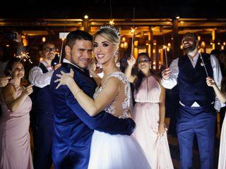 O casamento de Diandra e Pedro