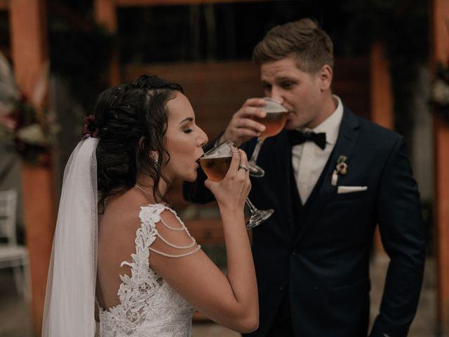 O casamento de Tuani e Matthias