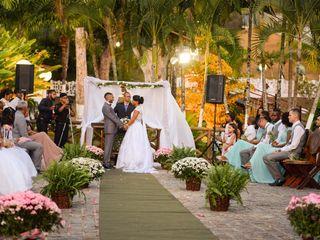 O casamento de Tainá e Eudes