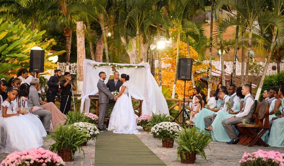 O casamento de Eudes e Tainá em Salvador, Bahia