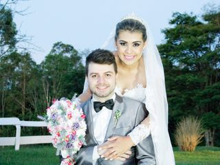 O casamento de Marlon  e Cristina