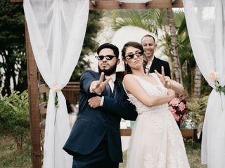 O casamento de Gabi e Lamon