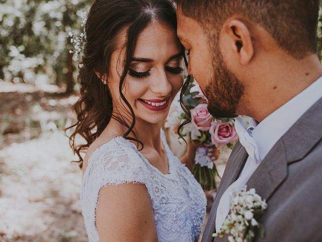 O casamento de Pamela e Richard