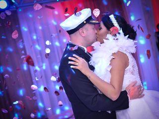 O casamento de Bianca e Robert
