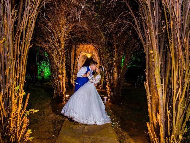 O casamento de Flavia e Lurhan