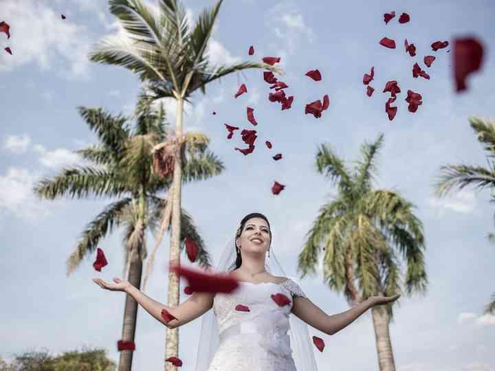 O casamento de Paloma e Helinho