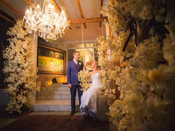 O casamento de Cláudia e Lírio