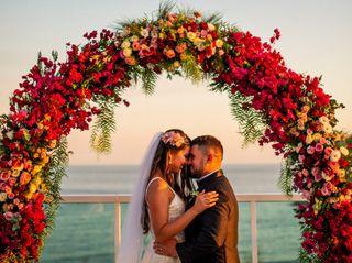 O casamento de Cristiane e Fernando