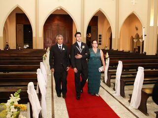 O casamento de Franscini e Daigo 2