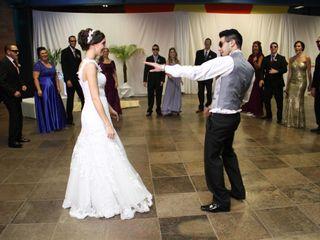 O casamento de Franscini e Daigo