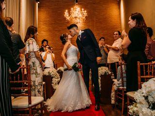 O casamento de Nadine e Gabriel