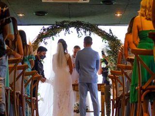 O casamento de Amanda e Jean