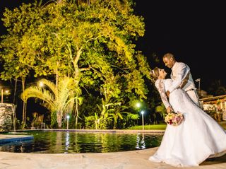 O casamento de Edson e Thabita