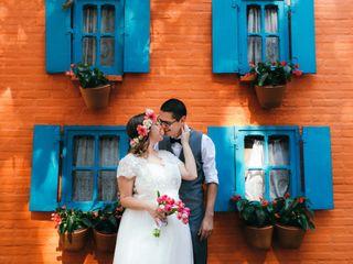 O casamento de Priscila e Diego
