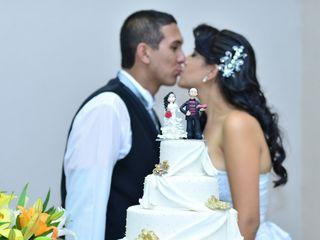 O casamento de Wesley e Indiara