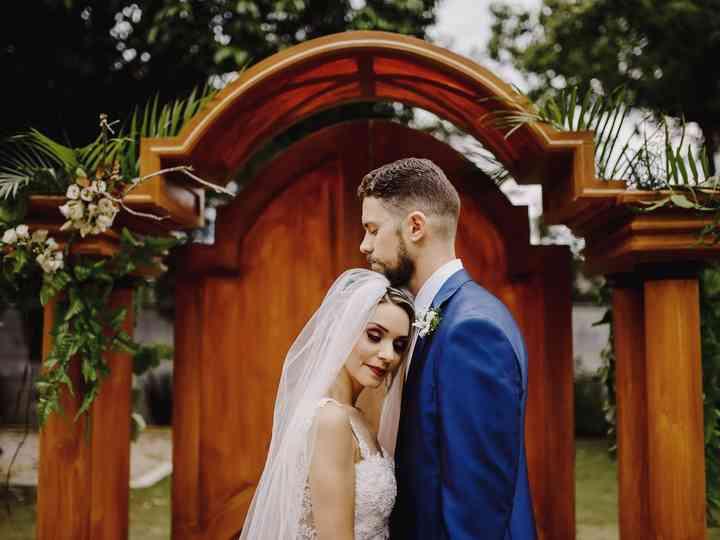 O casamento de Viviane e Khaoê