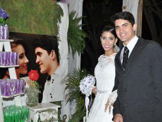 O casamento de Geovanna e Leandro