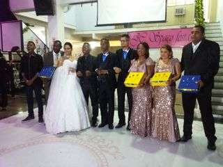 O casamento de Allan e Kecia