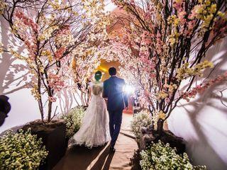 O casamento de Liz e Atemir