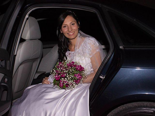 O casamento de Terezinha e Marcos