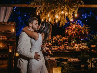 O casamento de Paula e Álan