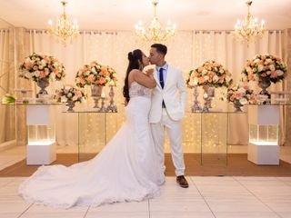 O casamento de Felipe e Ingrid