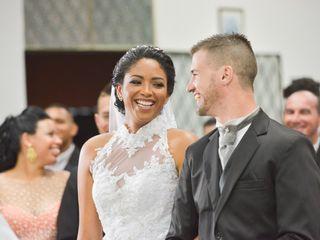O casamento de Andressa e Wallace
