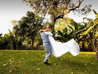 O casamento de Gleica e Diego
