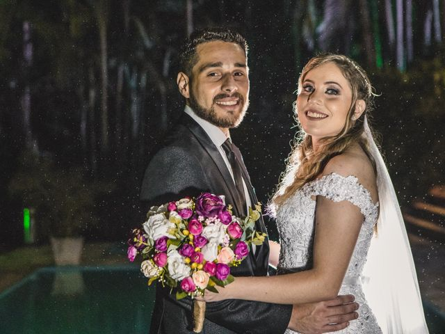 O casamento de Franciele e Ariel