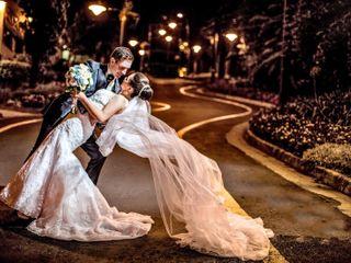 O casamento de Francine e Eduardo