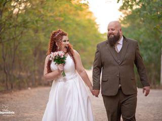 O casamento de Letícia e Aref