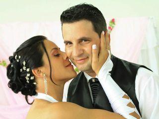 O casamento de Andreia e Gelso