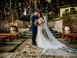 O casamento de Larissa e Alessandro
