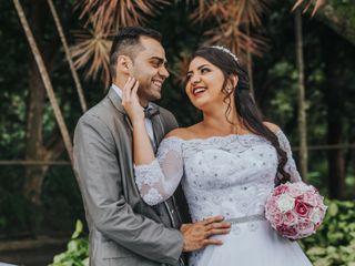 O casamento de Raquel e Marcelo
