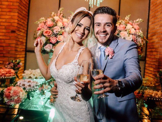 O casamento de Vivi e Vagner