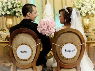 O casamento de Samara e Luamós