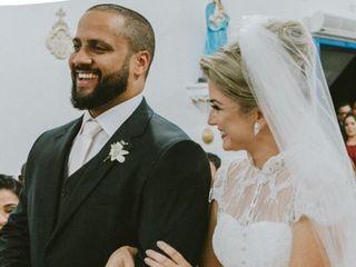 O casamento de Viviane e Guilherme