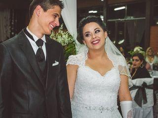 O casamento de Karina e Alessandro