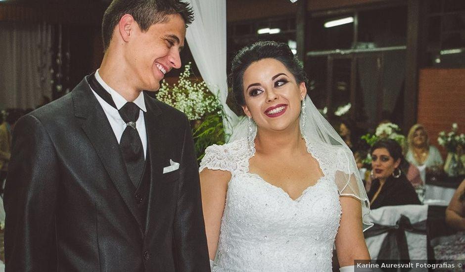 O casamento de Alessandro e Karina em Piraquara, Paraná
