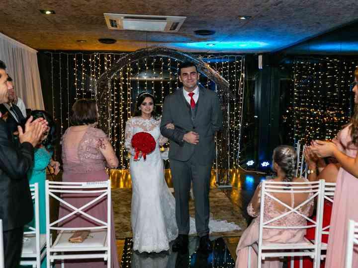 O casamento de Gabriela e Eder