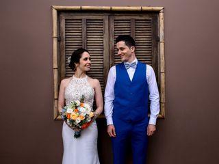 O casamento de Fernanda e Caio