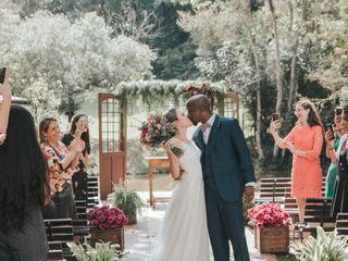 O casamento de Bianca e Isaac
