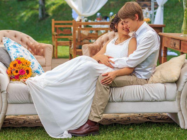 O casamento de Karine e Gustavo
