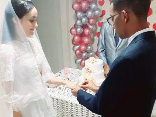 O casamento de Claudielly  e Elias