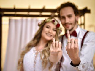 O casamento de Kamila e Yuri