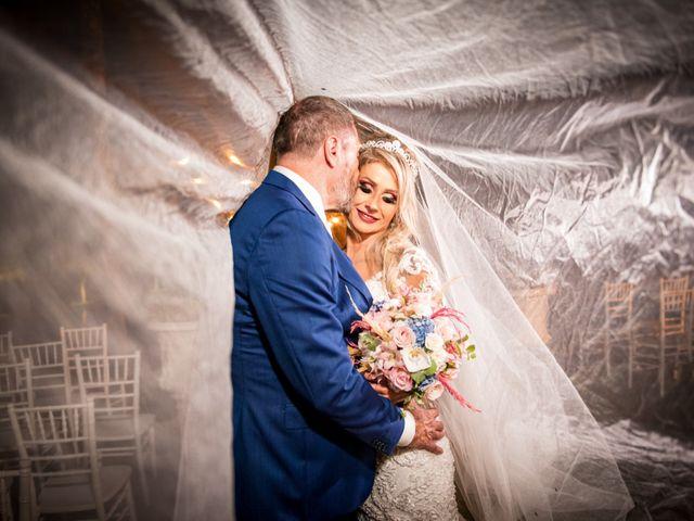 O casamento de Fabiana e Sidnei